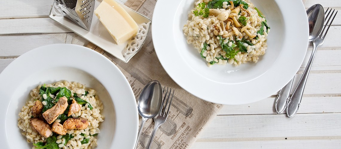 kroupove-rizoto-recept-houby