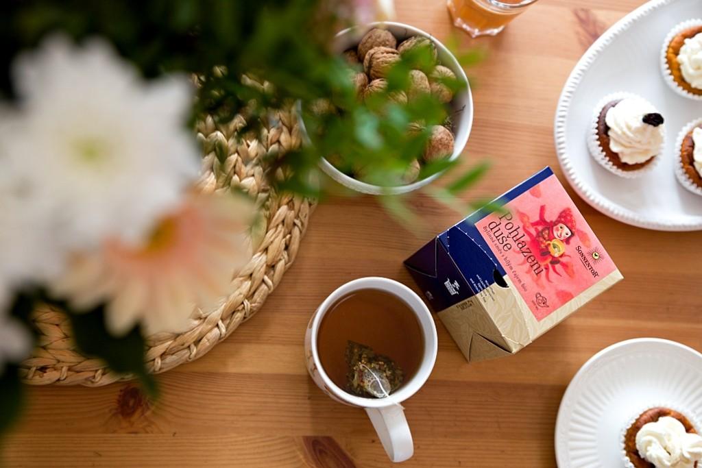 pití čaje