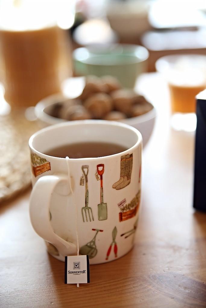 porcovaný čaj
