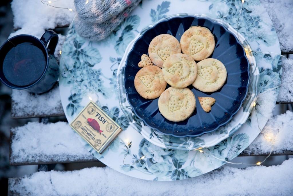hořčicové sušenky krekry