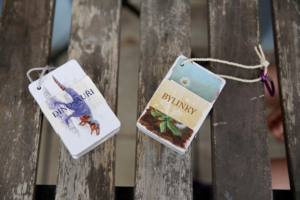 poznávací kartičky
