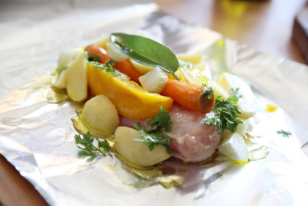 kuřecí maso v alobalu