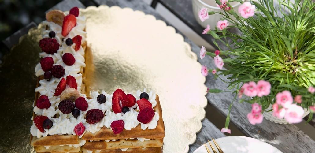 vaflový dort