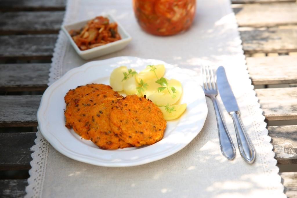 recept na mrkvové placičky