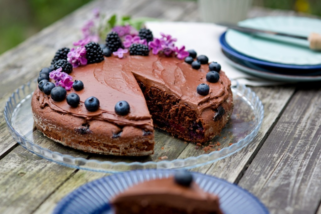 jednoduchý čokoládový dort