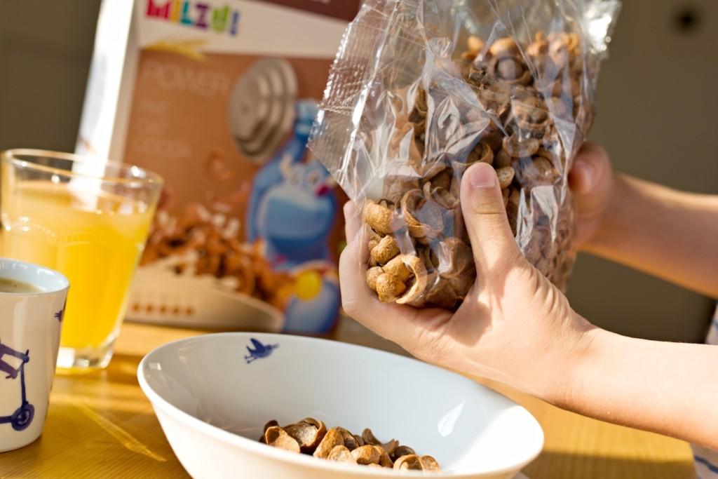 kakaové cereálie