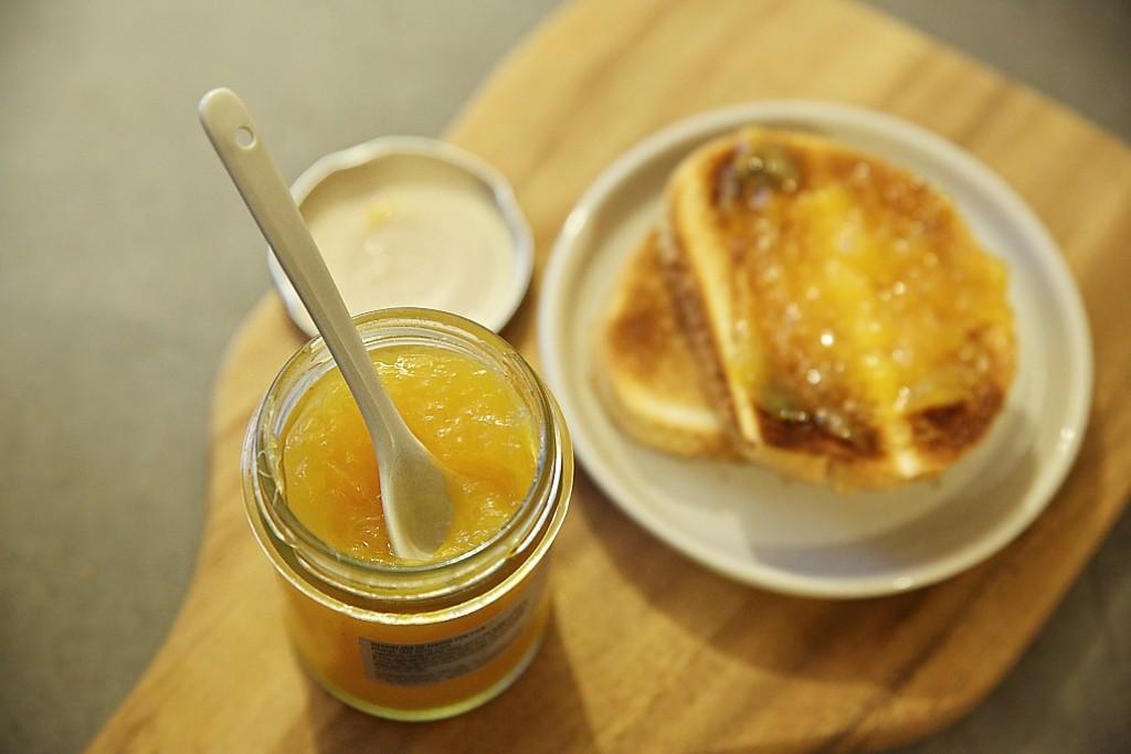 mangová marmeláda