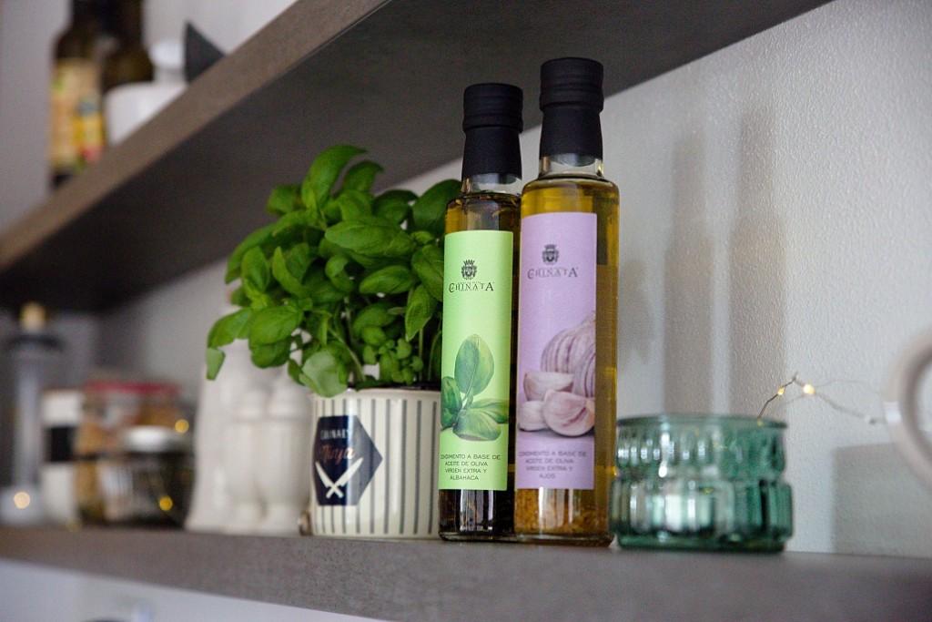 olivové oleje s příchutí