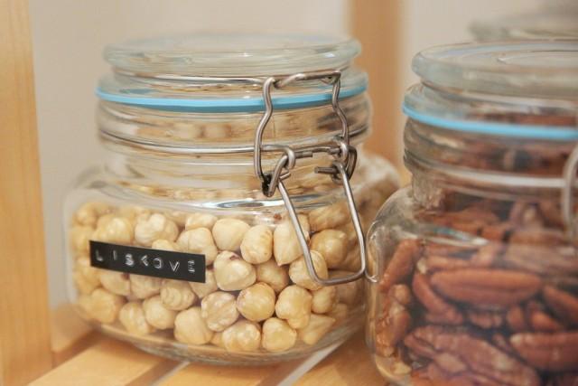 v čem mít ořechy
