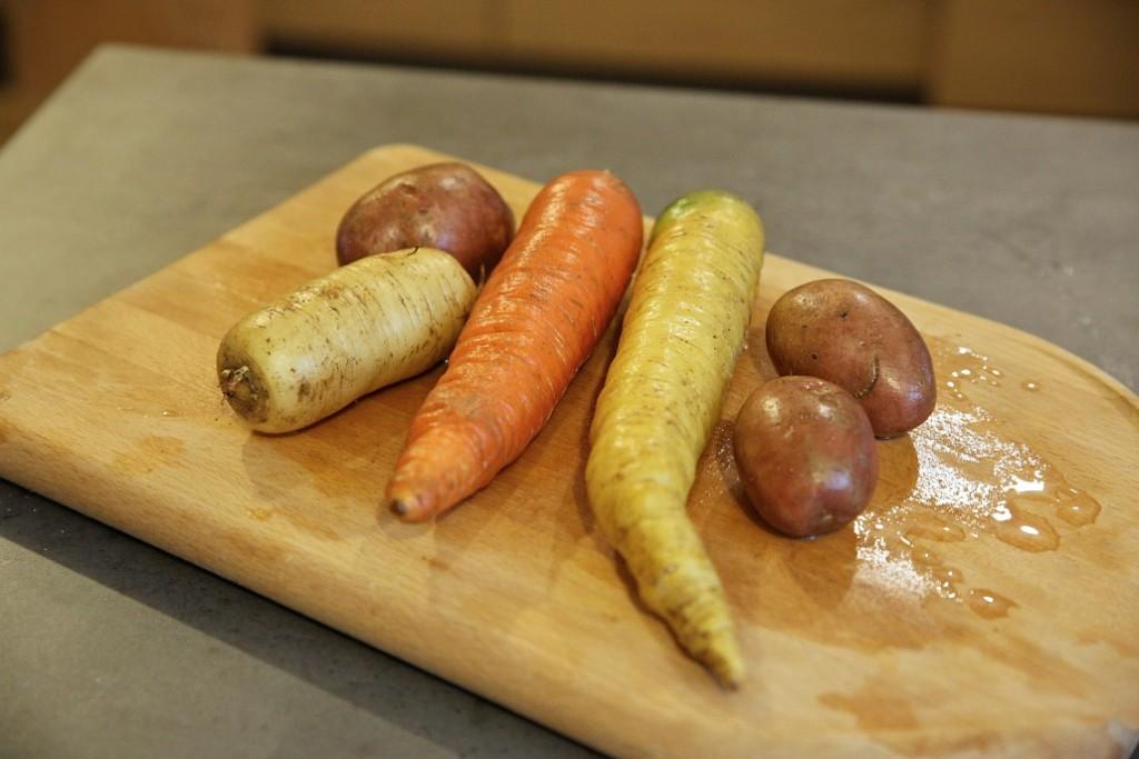 farmářská zelenina