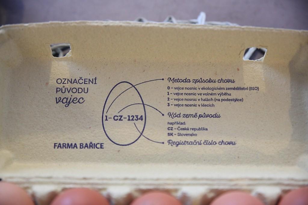 farmářské vejce