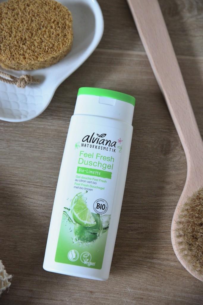 přírodní sprchový gel