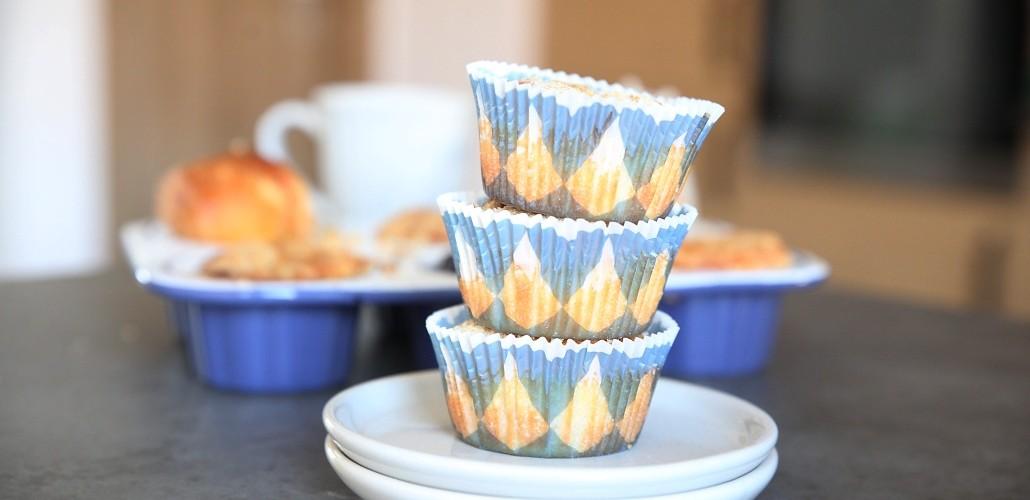 ovocné muffiny s drobenkou