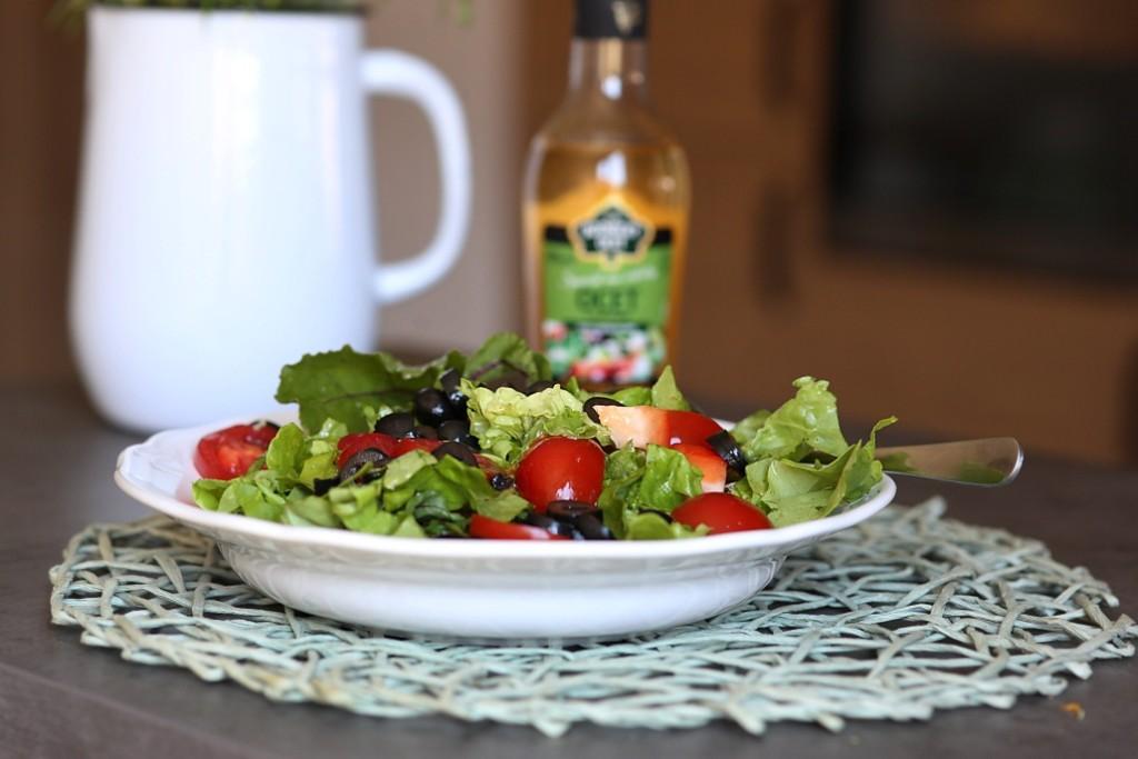 salát s octem