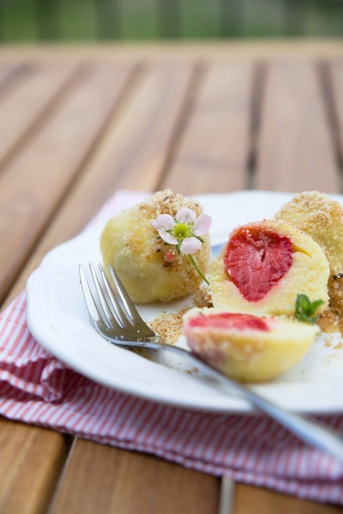 ovocné knedlíčky