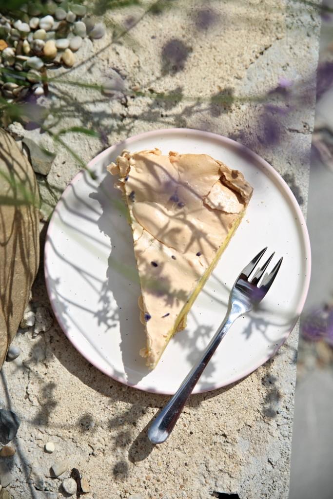 koláč s křehkým těstem
